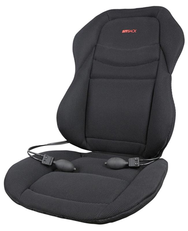 sitzauflage sitback sport auto sitzauflage r ckenkissen. Black Bedroom Furniture Sets. Home Design Ideas